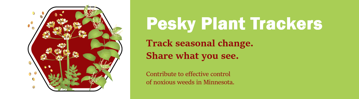 Pesky Plant Trackers Citizen Science